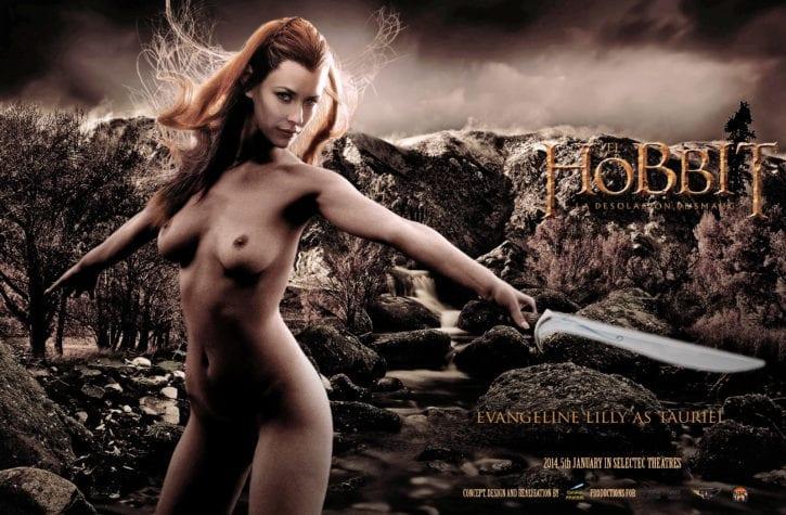 1492110 - Elf Evangeline_Lilly Tauriel The_Hobbit fakes
