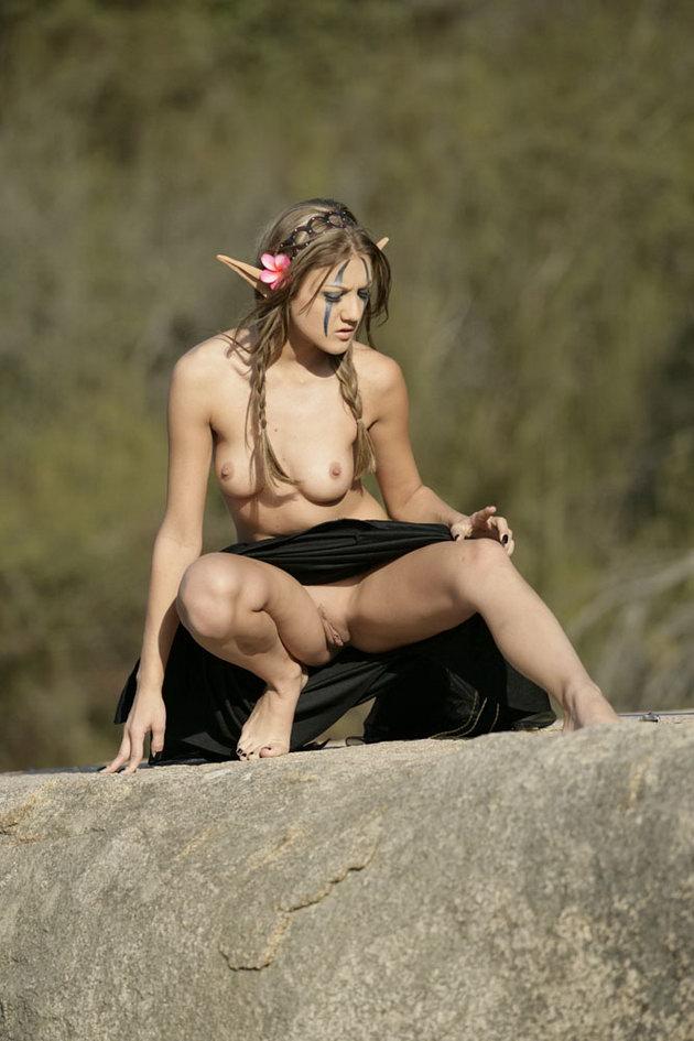 Beautiful Nude Elf Woman