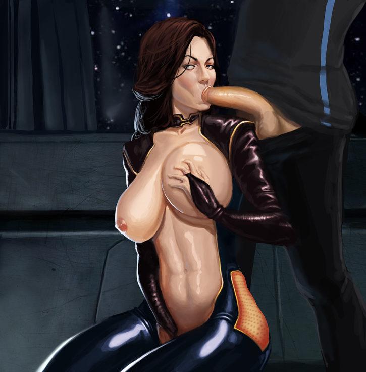Hardcore Mass Effect Rule 34