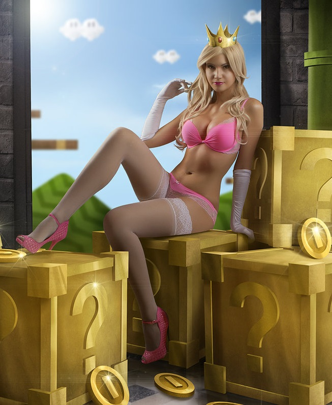 Sexy Princess Peach