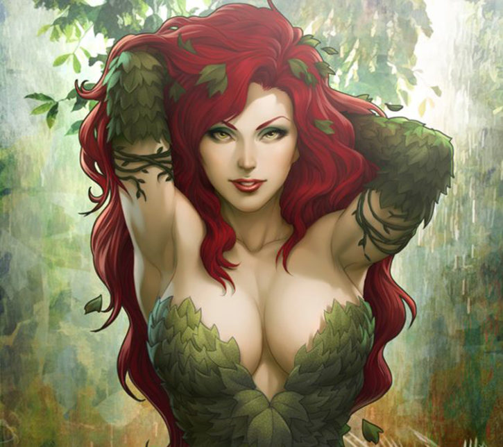 The Gorgeous Poison Ivy