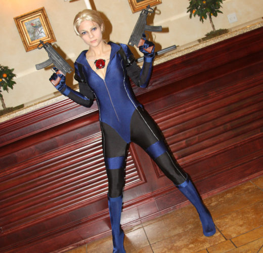 Jill Valentine Chilling With Her Guns
