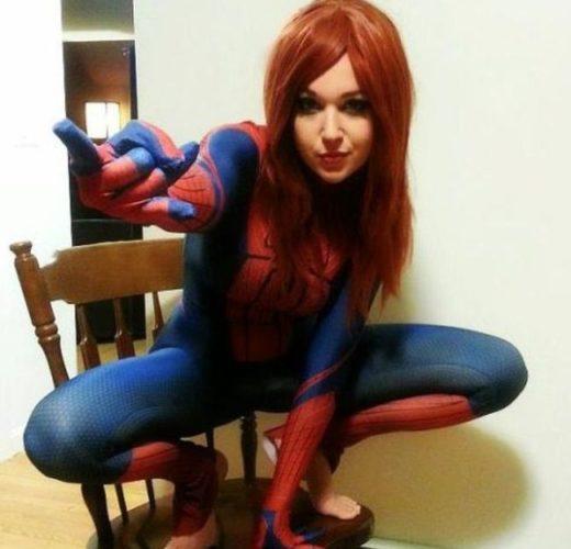 Spider-Man, Err… Woman