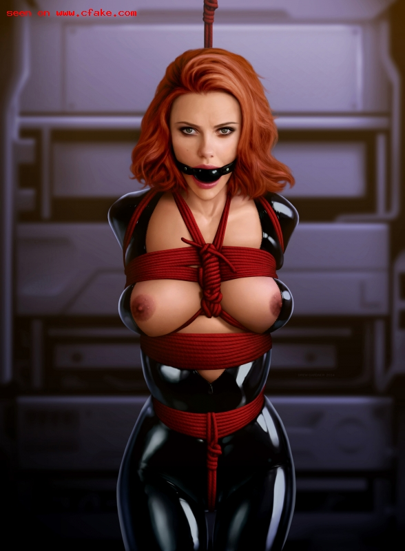 With you Sexy black widow porn