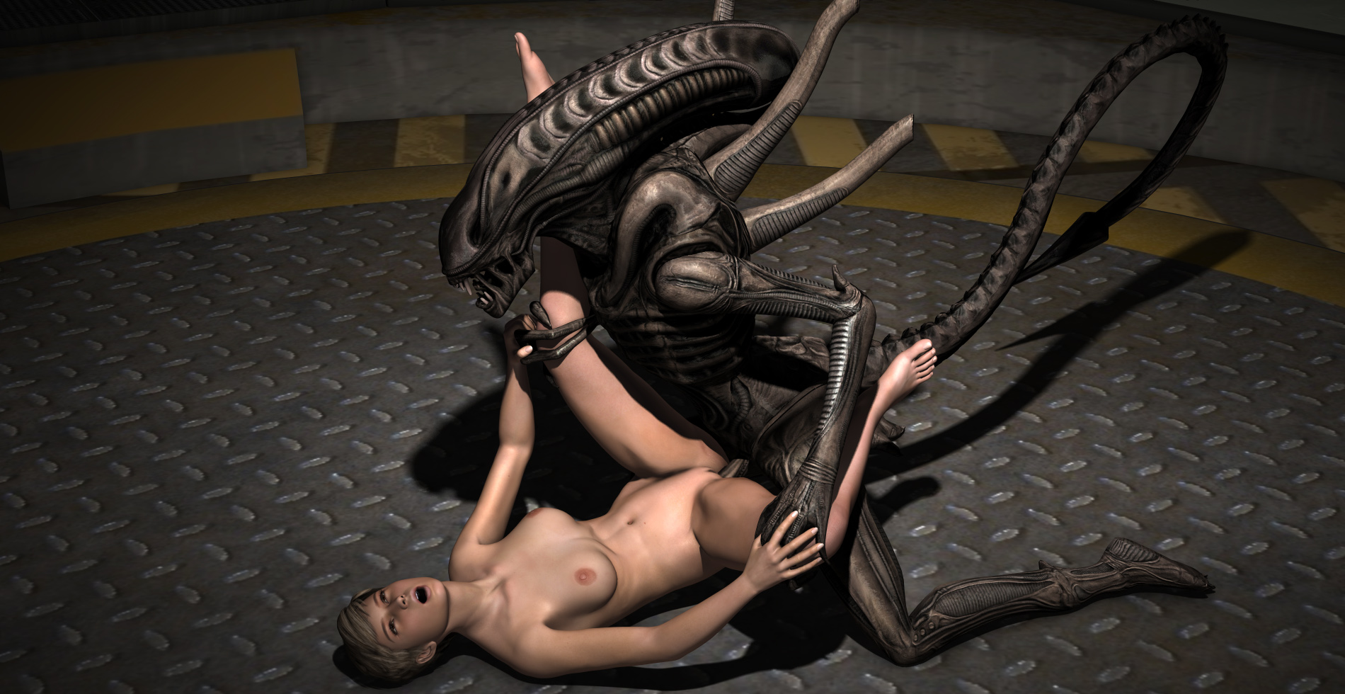 Alien And Human Sex 36