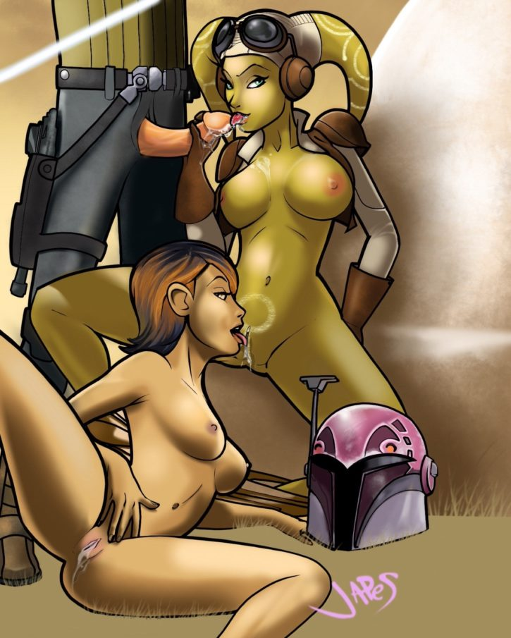 STAR WARS REBELS ASHOKA PORN