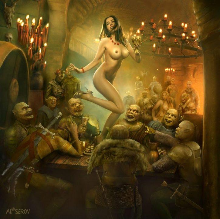 1568661 - AL_SEROV Fantasy human orc