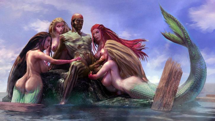 1568736 - Fantasy Siren pirate