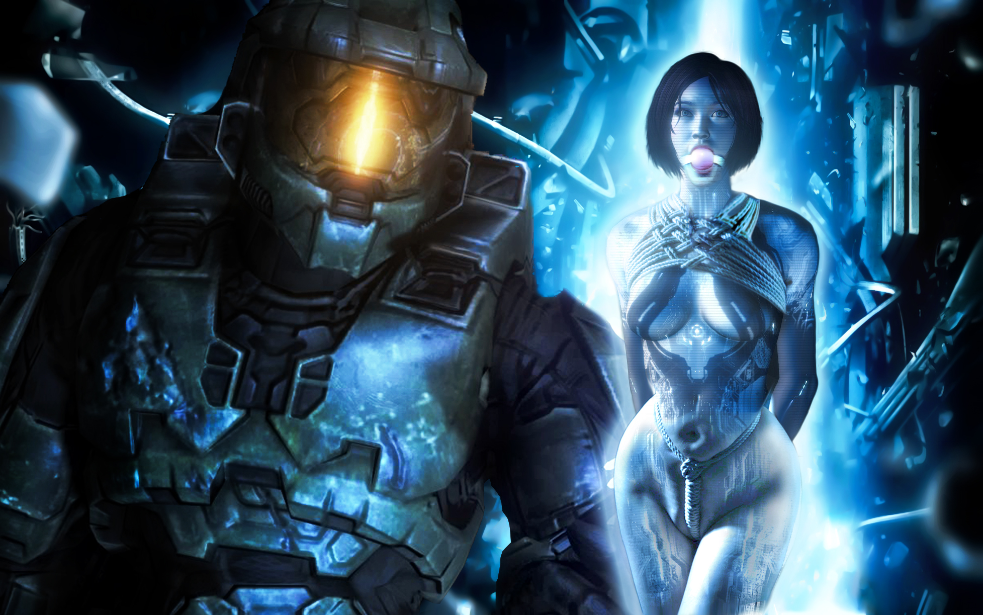 Halo 4 cortana naked hentai films