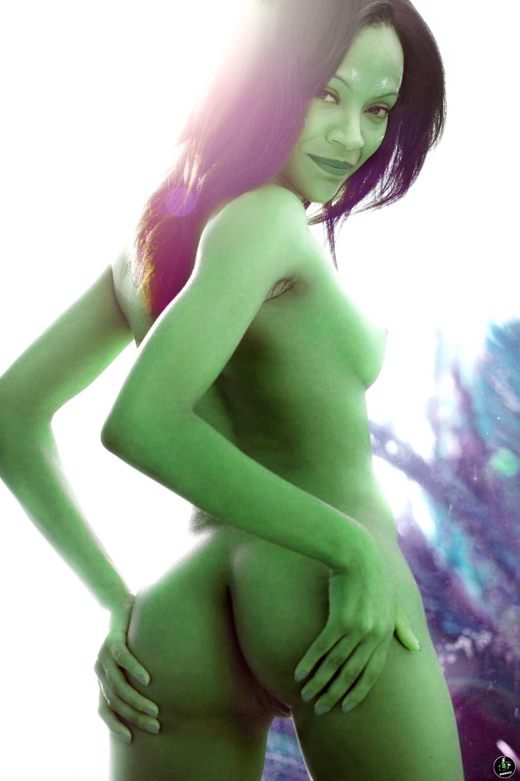 Gamora Nackt