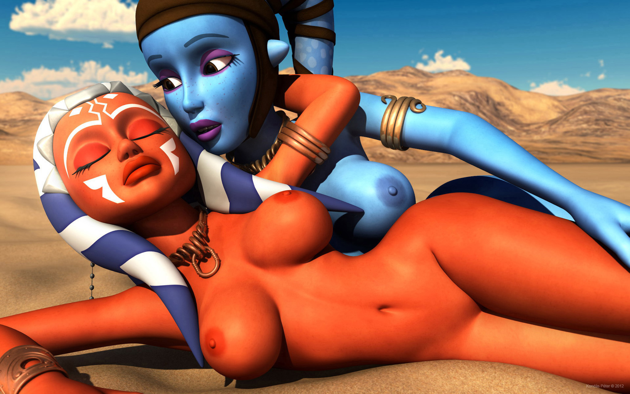 Ahsoka tano hot and naked porn tube