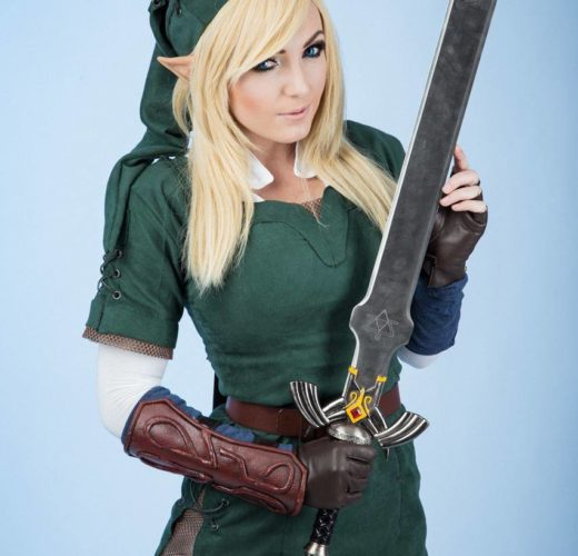 Jessica Nigri as Link