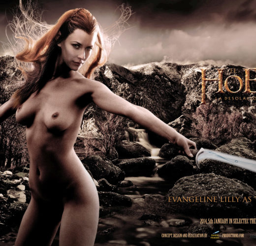 Tauriel (The Hobbit) Rule 34
