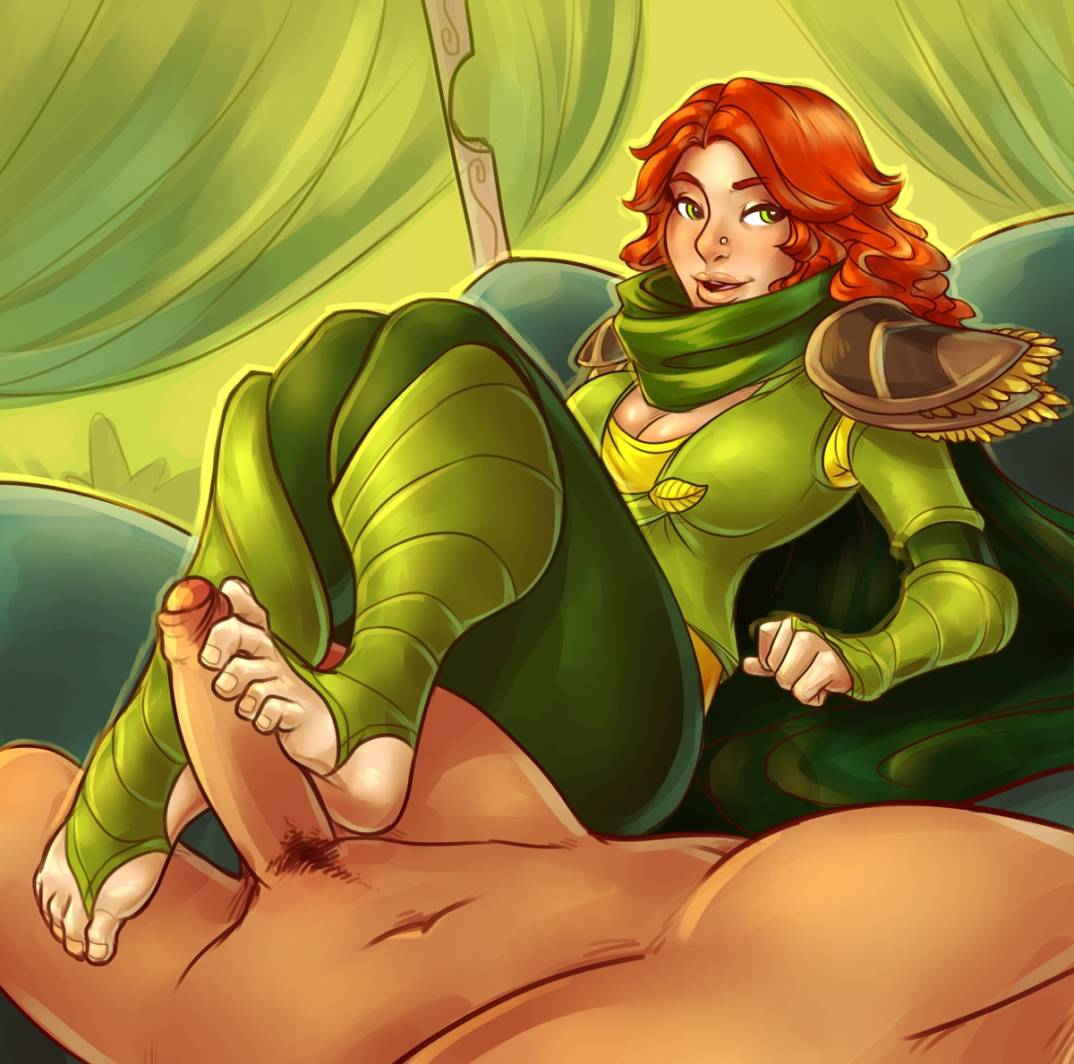 Dota sex toons naked comic