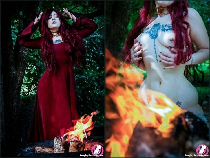 1516652 - Game_of_Thrones Melisandre cosplay cosplaydeviants