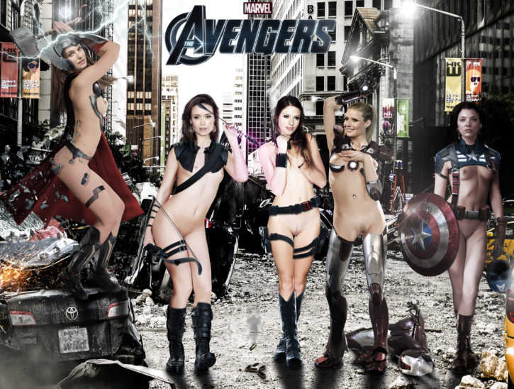 1546967 - Avengers Black_Widow Captain_America Gwyneth_Paltrow Hawkeye Iron_Man Natalie_Dormer Natalie_Portman Rule_63 Scarlett_Johansson Summer_Glau Thor cosplay fakes