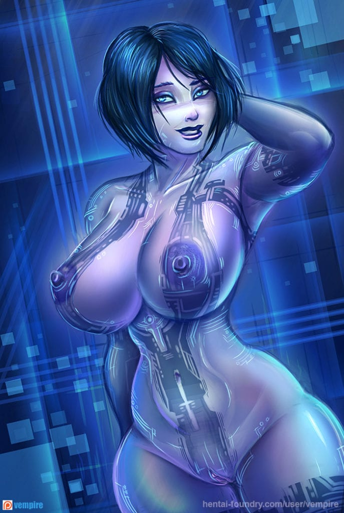 1550919 - Cortana Halo vempire