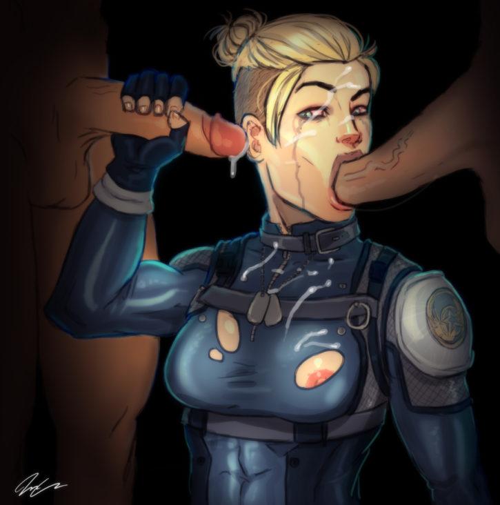 1554697 - Cassie_Cage Mortal_Kombat pumpkinsinclair