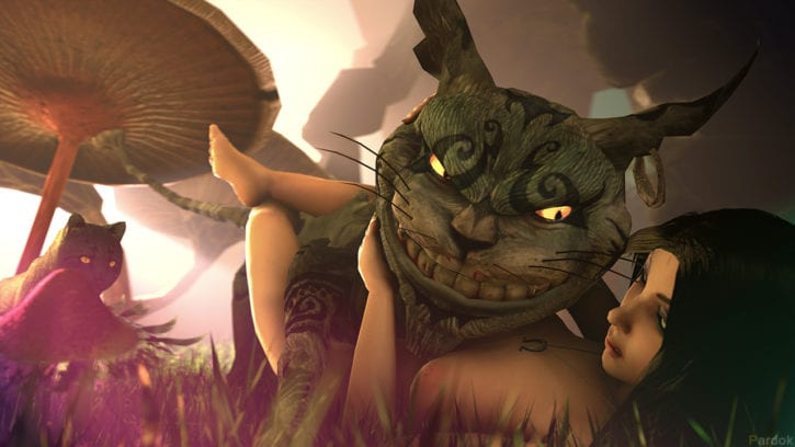 1569439 - Alice_Liddell Alice_Madness_Returns Cheshire_Cat Pardok