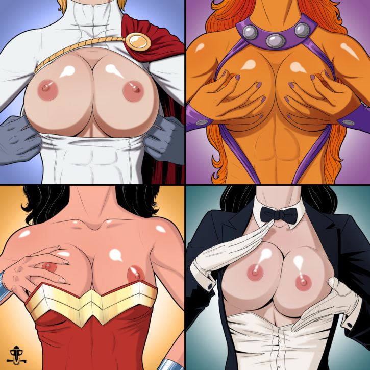 1570231 - DC PiratePup Power_Girl Starfire Teen_Titans Wonder_Woman Wonder_Woman_(series) Young_Justice Zatanna