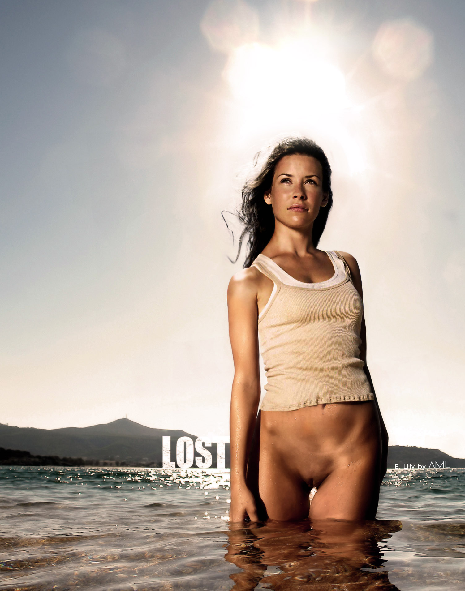 Evangeline Lilly Nude Pics and Videos -- - Top Nude Celebs