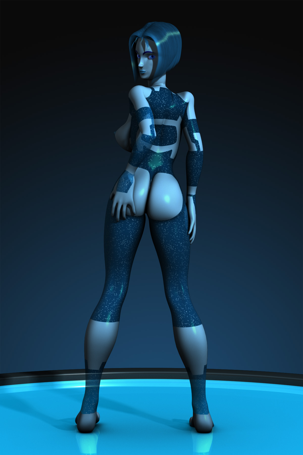 Cortana halo sexy sexy pictures