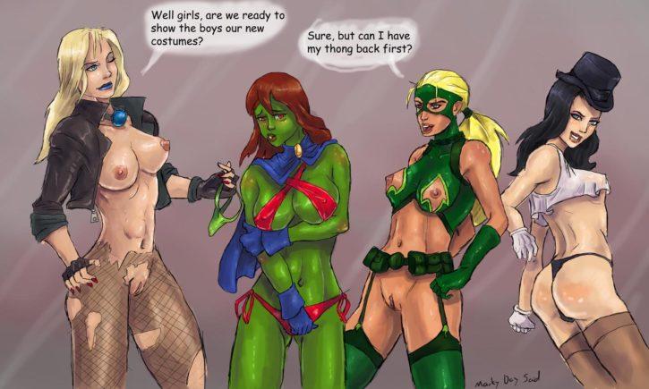 754473 - Artemis Black_Canary DC Miss_Martian Young_Justice Zatanna markydaysaid