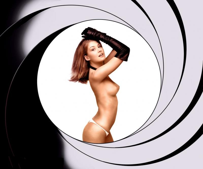 Girls james naked bond