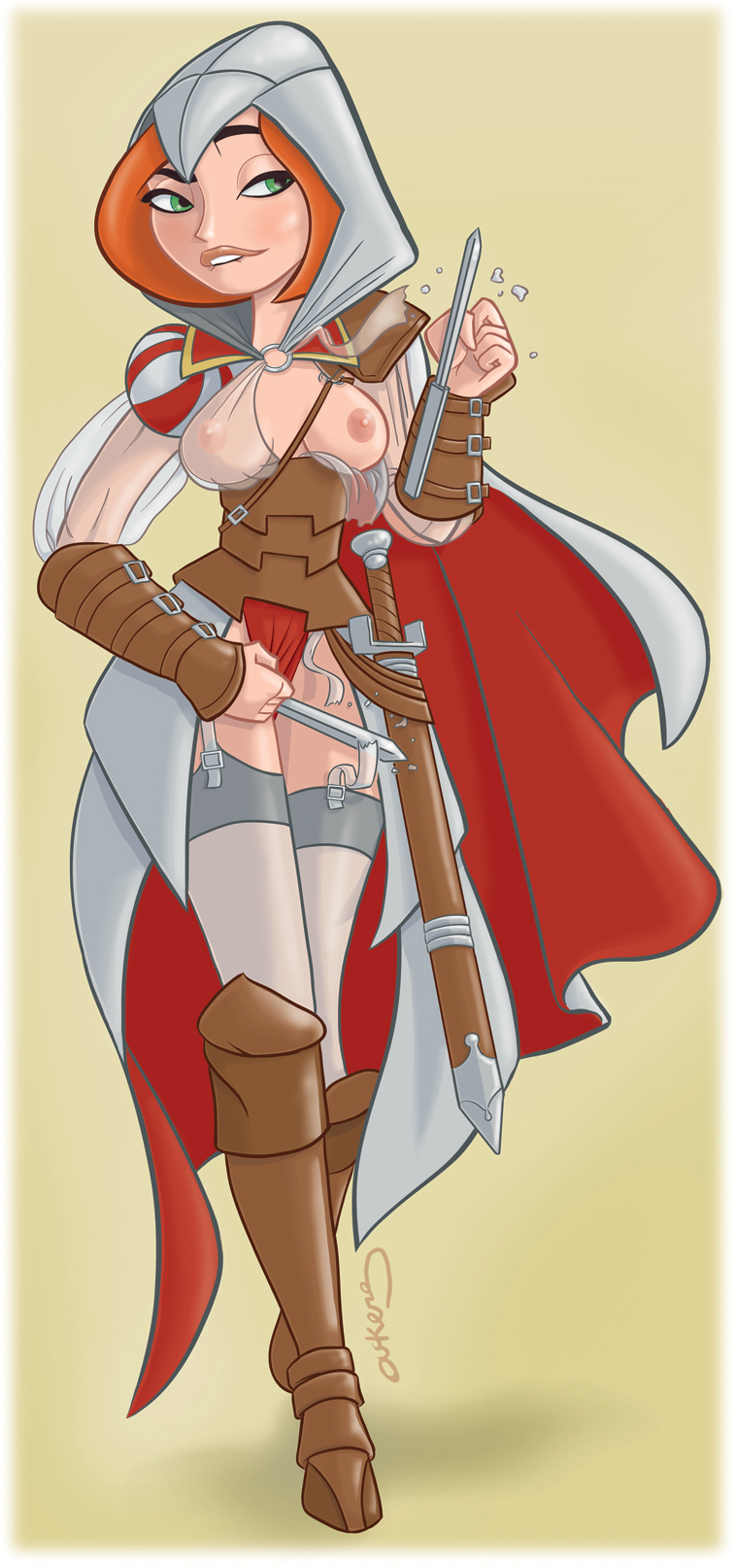 Assassin girl cartoon porn hentai photo