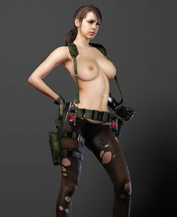 metal gear solid 5 quiet porn