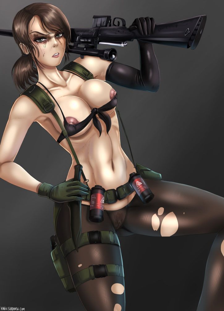 1245882 - Metal_Gear_Solid Metal_Gear_Solid_V Quiet Shadman