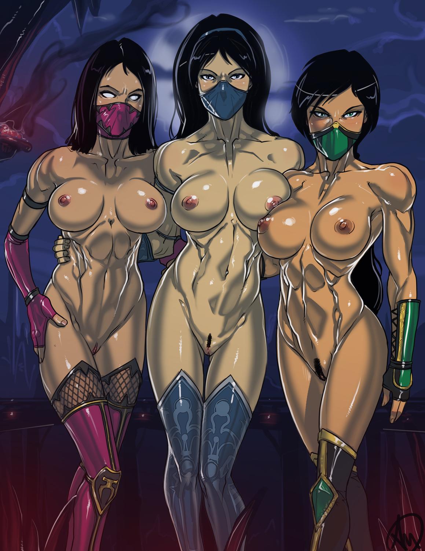 Mileena naked porn erotic scene