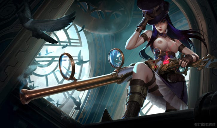 1426711 - Caitlyn League_of_Legends Liquidshadow