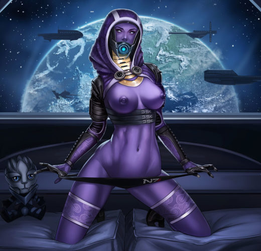 More Tali from Mass Effect Rule 34
