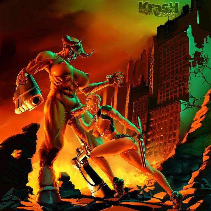 1577206 - Cyberdemon DOOM Doomguy FabAlex Rule_63