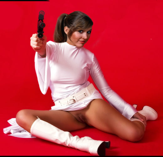 Naughty Princess Leia