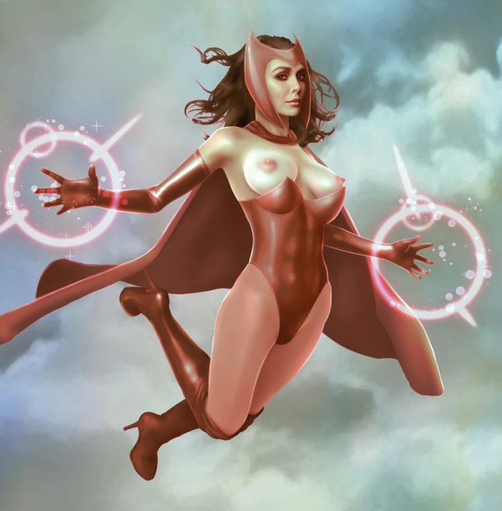 1600369 - Avengers Marvel Wanda_Maximoff porcupine (1)
