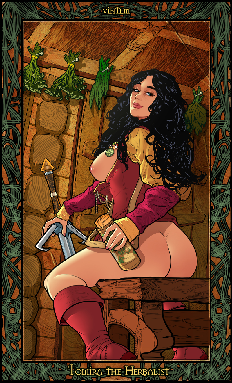The witcher erotic cards nude pictures