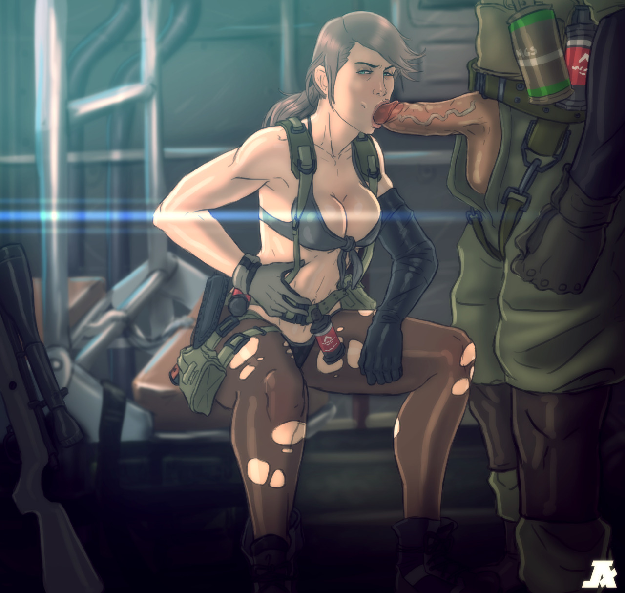 metal gear solid quiet hentai