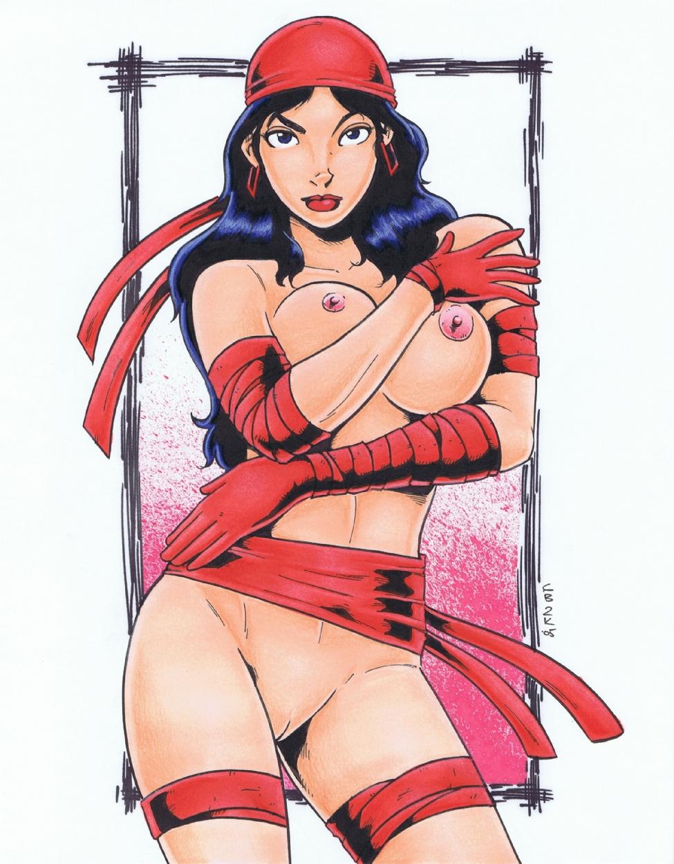 Elektra hentai manga sexy download