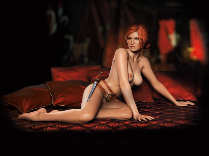 860817 - The_Witcher Triss_Merigold