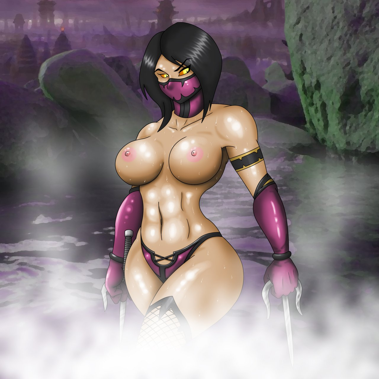 Mileena naked porn hentai photo