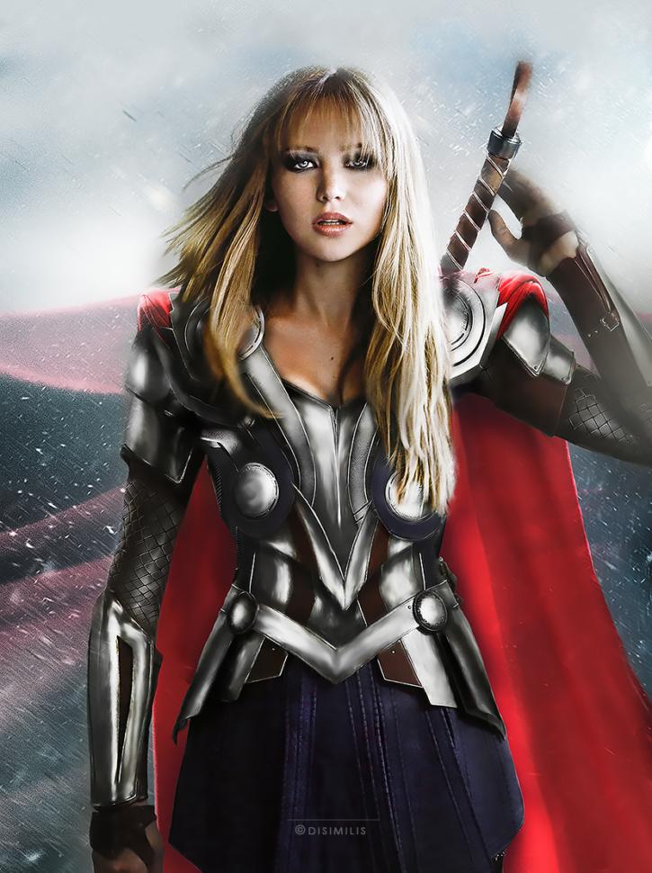 genderswapped avengers fanart (3)