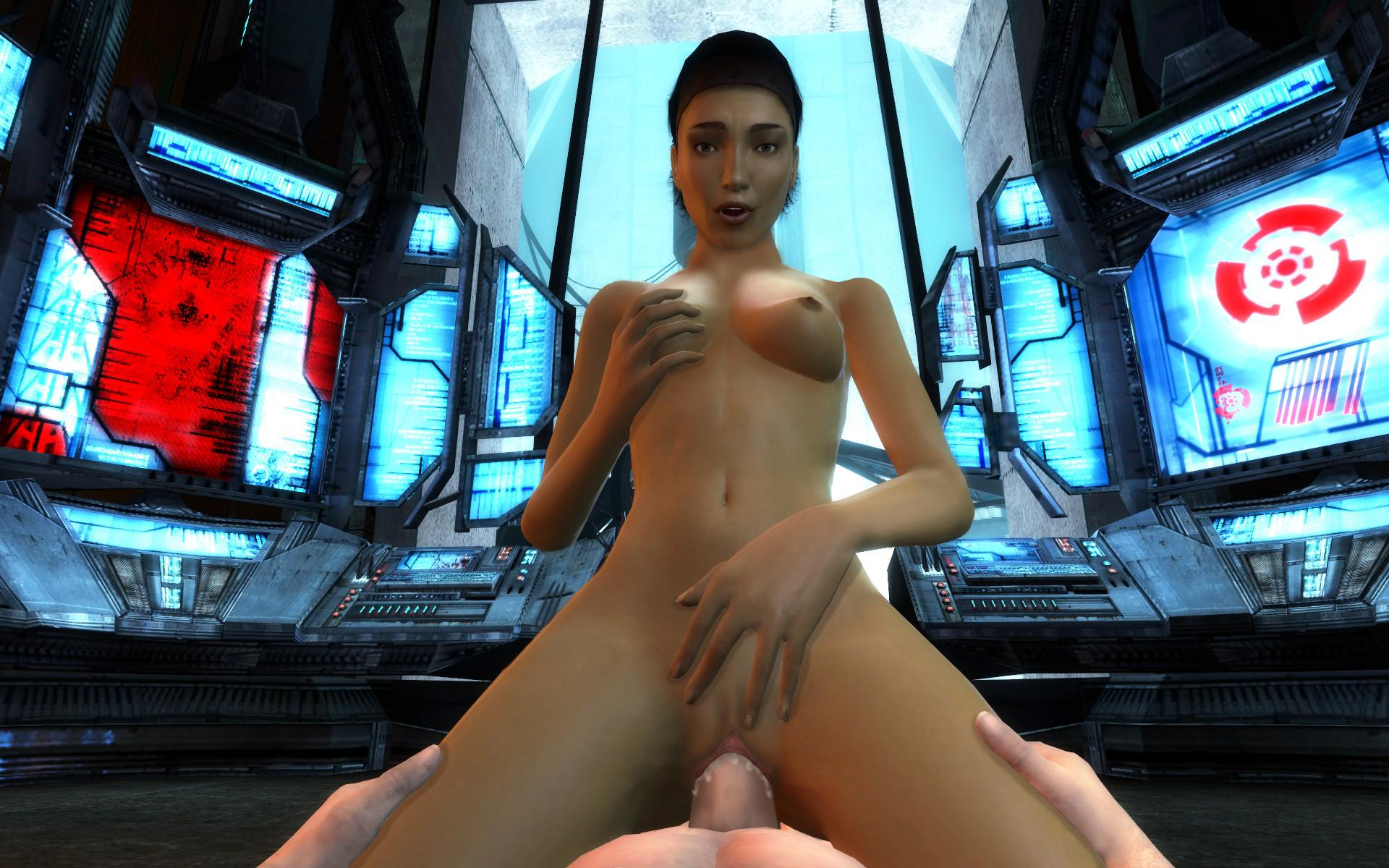 Alex from half life sex nudes video
