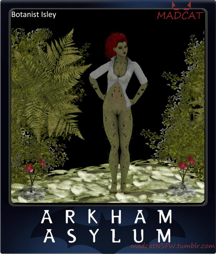 1311934 - Batman-_Arkham_Asylum Batman_(series) DC Madcat Poison_Ivy