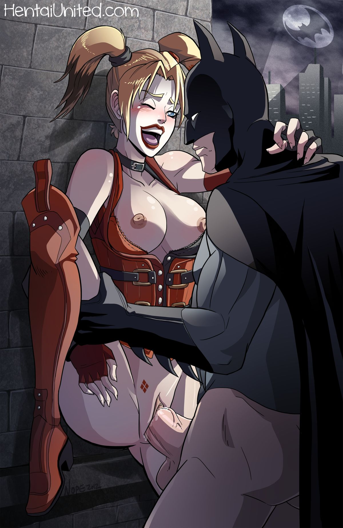 batman sex harley