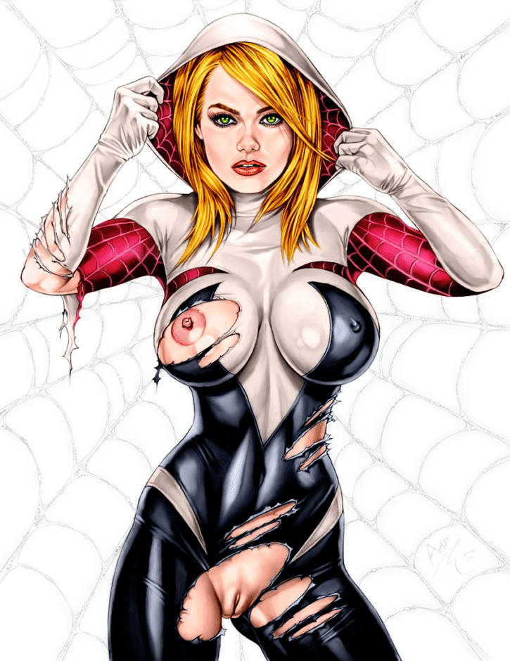 1577301 - Armando_Huerta Edge_of_Spider_Verse Emma_Stone Gwen_Stacy Marvel Spider-Man_(series) spider-gwen