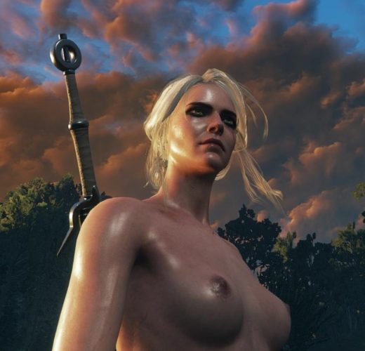 Ciri from Witcher 3 Rule 34