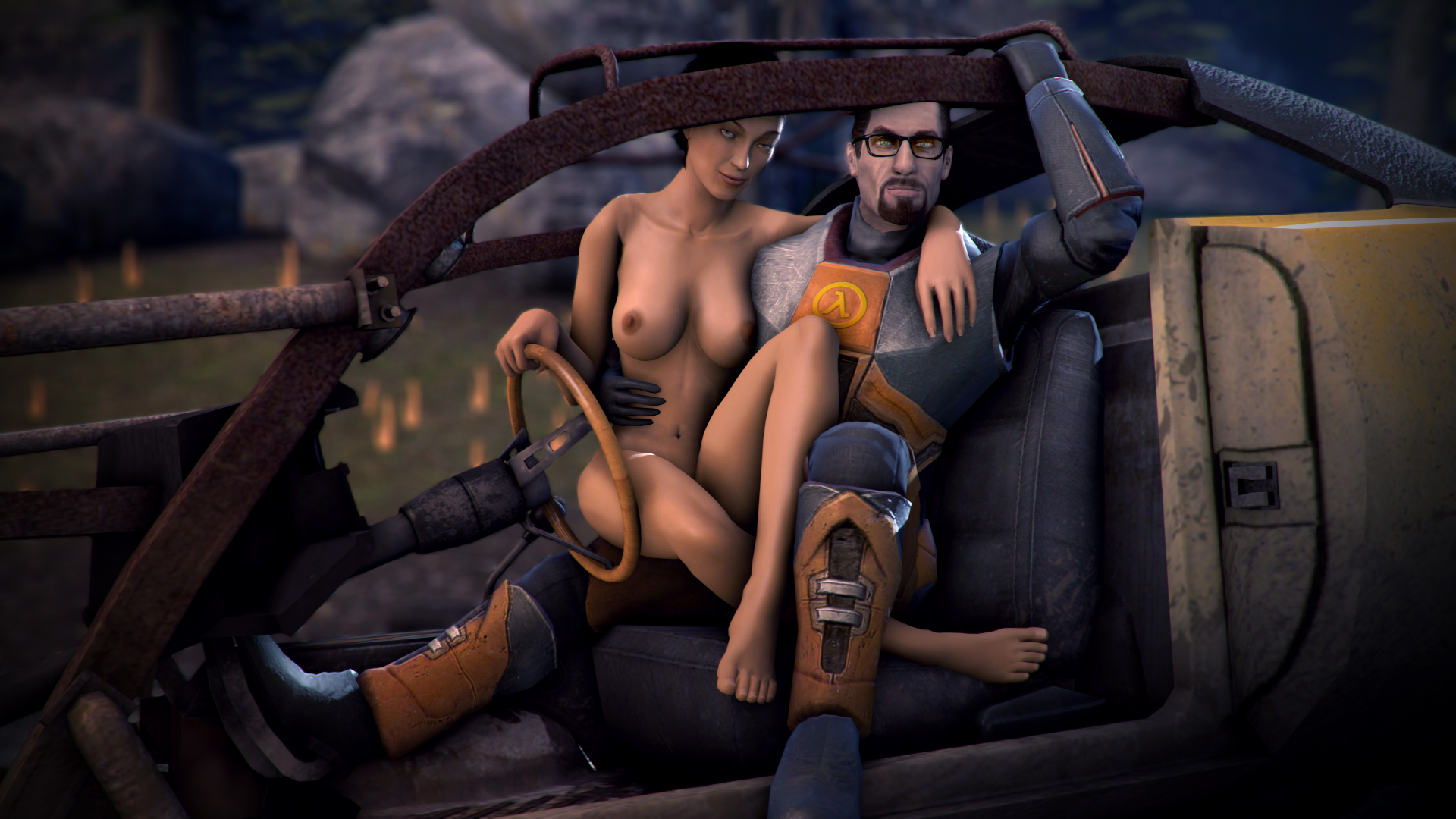 Hl2 alyx hentai exposed pic