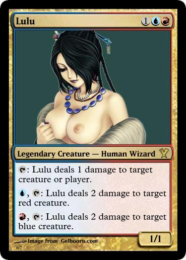 Consider, that Magic the gathering porno that